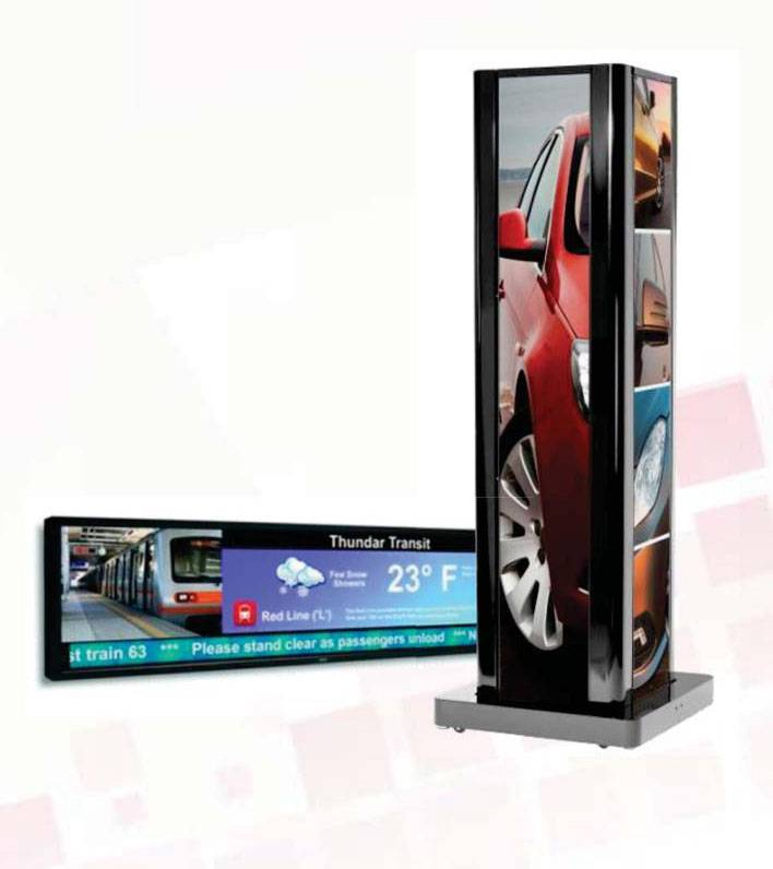 Интерактивный экран Zalcom stretched Bar LCD (monitor) - Avisual