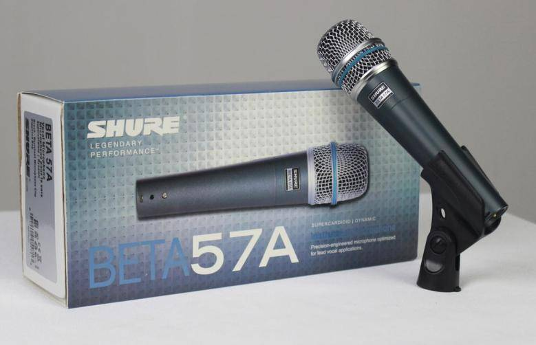 Микрофон Shure beta57a wired microphone